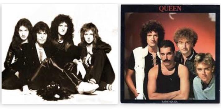 Queen album covers