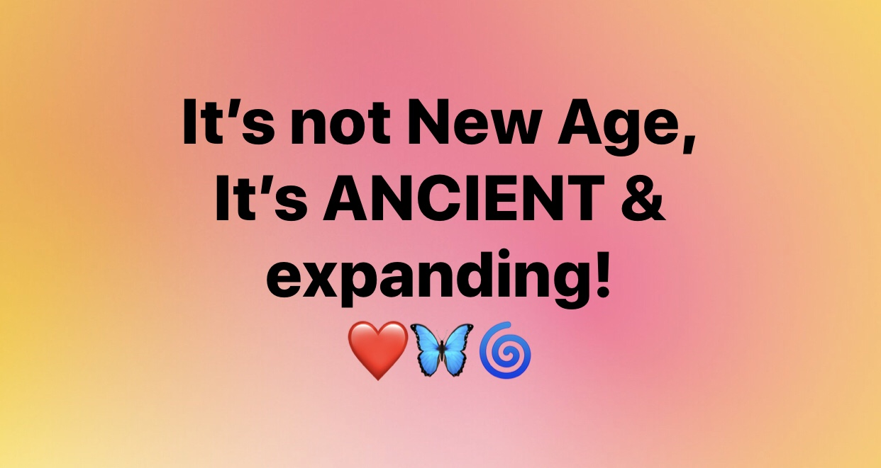 Not new age