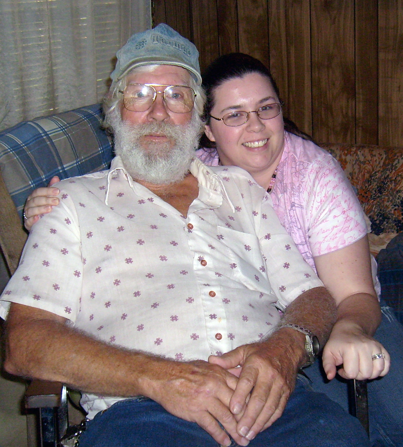dad and marie dec 2008