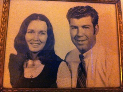 Dad and mom portrait at age 30