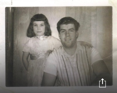 Dad and Sheila at Alberdias 1966