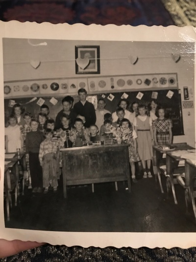 Dad at school as a boy