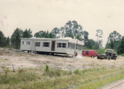 FL Double-wide moving it in 1984
