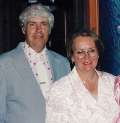 Mom and dad at my second wedding in FL June 1991