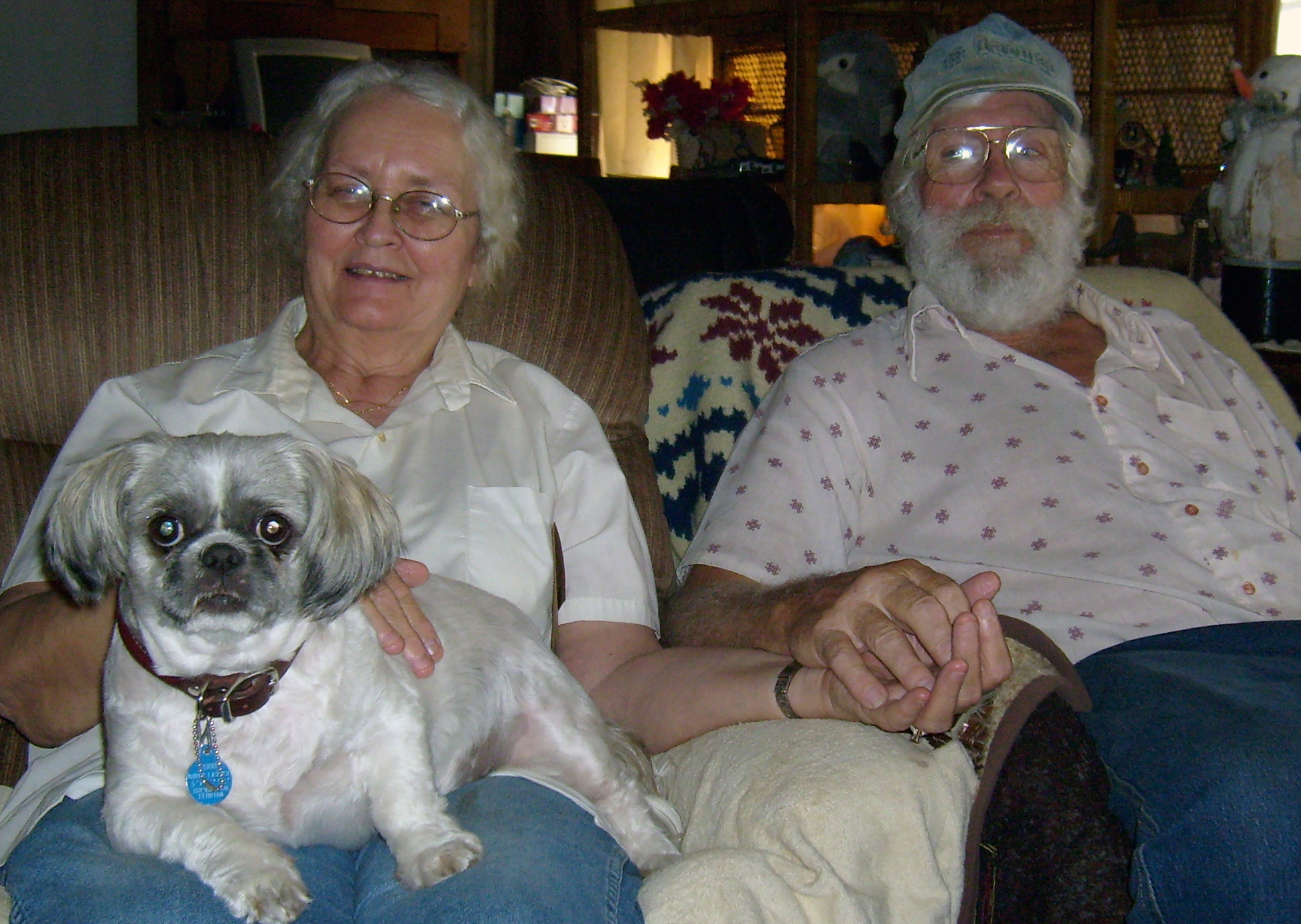 mom dad and beau dec 2008