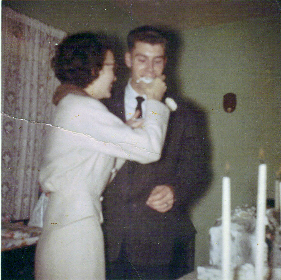 BettyAnn and Nelson Wedding Day 01061960