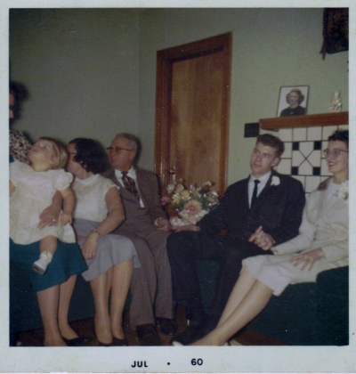BettyAnn and Nelson Wedding Day (2) 1960