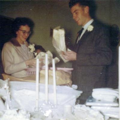 BettyAnn and Nelson Wedding Day (3) 1960