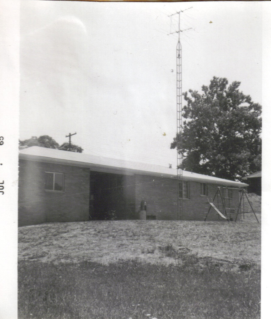 Buff brick house July 1965