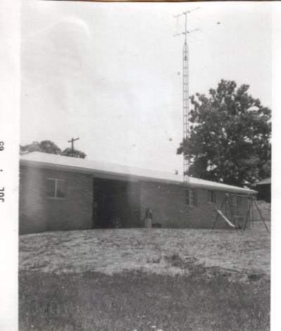 Buff brick house July 1965