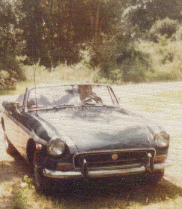 Dad in his Triumph mid 1970s