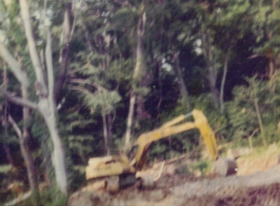Dads backhoe