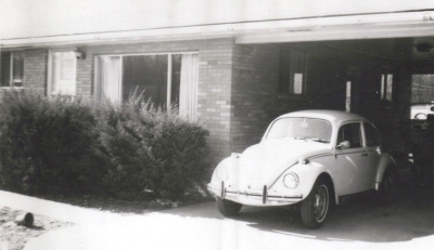 Dads VW Beetle