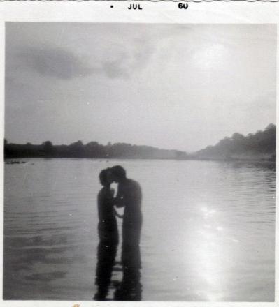 Mom and Dad at Veto Lake 1960