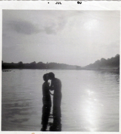 Mom and Dad at Veto Lake 1960