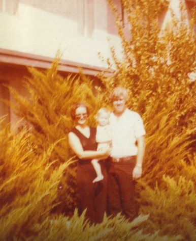 Mom and Dad in Las Vegas with April 1979