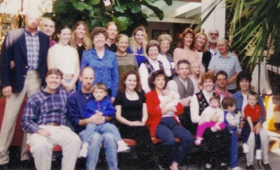 Reunion Williams family 1995 or 1996