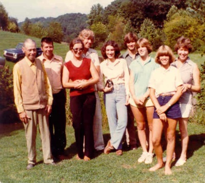 Williams family 1979