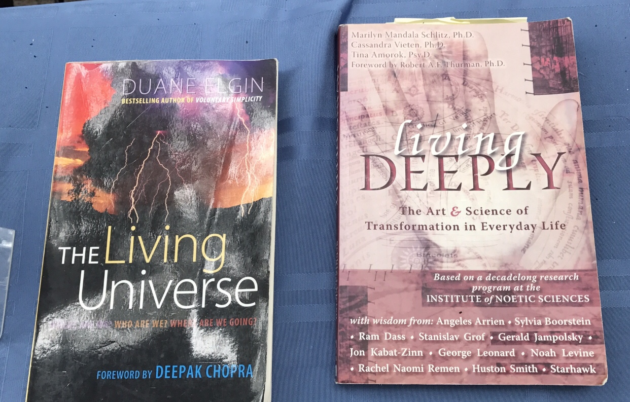 The Living Universe and Living Deeply